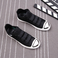 Wholesale background shoes resale online - Fairy2019 Skate Help In Ephebe Black White Background Casual Trend Set Foot Loafer Ventilation Flat Shoes