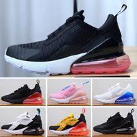 sports shoes ce645 0f35a Nike air max 27c Hot economici bambini scarpe da ginnastica per bambini 270 scarpe  da basket lupo grigio bambino sport sneakers per ragazzi ragazza bambino ...