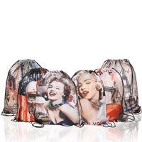 paket çantası toptan satış-5 stilleri Monroe Çanta Alma İpli Paket Omuz Çantası Büyük Kapasiteli Çanta Almak Plaj Sırt Çantası Su Geçirmez oyuncak Çanta Almak FFA1981