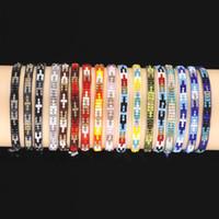 Wholesale rice bracelets resale online - VSCO GIRL Creative Braided Bracelet Rice Beads Bracelet Handmade New DIY VSCO Bracelet Pony Beads Colors
