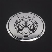 Wholesale decorative car parts resale online - automobile car styling Steering wheeled cover decorative auto replacement parts covers modification wheel hub center D sticker