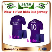 bc424aa3953 2020 Orlando Kids kit Home #10 KAKA Soccer Jersey 19 20 #10 COLMAN #14  DWYER BOYS Soccer Shirt J.MENDEZ PATINO Football uniforms