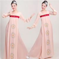 mujeres traje étnico al por mayor-Asia Pacífico Islas Ropa sexy mujeres modernas Hanbok Vestido cosplay traje Coreano Vintage Vestido de gasa ropa étnica oriental