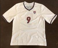 nombre de camiseta de fútbol personalizado al por mayor-Rare Vintage EE. UU. USWNT Mia Hamm Futbol Jersey de fútbol Bordado Puntadas Personalizar cualquier tamaño y nombre Jersey