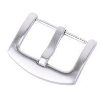 fecho de mola de aço inoxidável venda por atacado-Fecho de aço inoxidável da curvatura com barra contínua da mola para a faixa de relógio do bracelete de 20mm