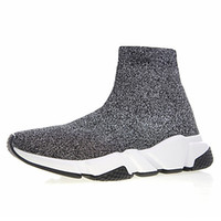 0665f41fe95f Wholesale designer sneakers for sale - Men Women Sock Shoes Luxury Brand  Black Red CASUAL Shoes