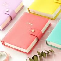 a6 merkzettel großhandel-2019 neue Ankunft Nette Kawaii Notebook 365 Journal Tagebuch Planer Notizblock Organizer Papier Notizbuch A6 Tagesordnungen Korean Schreibwaren T8190701