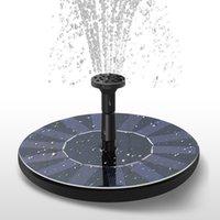 bahçe su çeşmesi güneş enerjili toptan satış-Güneş Enerjisi Çeşmesi Bahçe Çeşmesi Güneş Su Pompası Güneş Su Püskürtücü Sulama Systerm Bahçe Dekorasyon ZZA456