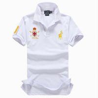 jungen polos großhandel-2019 poloshirt solide polo shirt männer luxus polo shirts langarm männer grundlegende top baumwolle polos für jungen marke designer polo homme