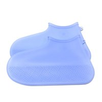 Wholesale portable boots resale online - Solid Silicone Hiking Outdoor Washable Shoe Cover Protector Waterproof Durable Portable Thicken Reusable Non Slip Rain Boots