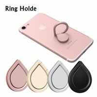 Wholesale i6 phone metal online – Metal Water Drop Ring Holder Mobile Phone Ring Stand Spinner Smartphone Universal Metal Holder for I6 I7 Galaxy S8 S8edge S7edge Note8