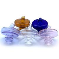 bongs universais venda por atacado-DHL !!! UFO Vidro Carb tampão 35mmOD Bolha Carb Caps Cap Universal Para Quartz Banger Nails Dab Rigs Vidro Água Bongs