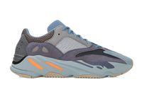 Wholesale breathable mesh shoes men for sale - Group buy Carbon Blue V2 Wave Runner Running Shoes Inertia Hospital Blue Vanta Men Women Kanye West Designer Sneakers With Box StockX Tag
