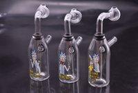 ingrosso divertente olio rig-mini Creative Beaker divertente Bong Tubi di acqua in vetro piccolo olio Dab Rig Bong pipe