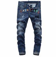 avrupa ebatlı kot toptan satış-Yaz 2019 toptan erkek kot pantolon, Avrupa kot üretimi iyi kalite erkek giyim bedenleri hoş geldiniz 28-38: 44-54 026