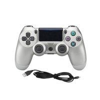 ps4 dual großhandel-Premium Qualität Wired PS4 Gamepad Controller für PS4 Dual Vibration Joystick Gamepad Gamecontroller Wired JoyStick