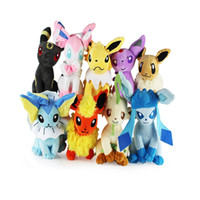Wholesale new umbreon plush for sale - Group buy Umbreon Eevee Espeon Jolteon Vaporeon Flareon Glaceon Leafeon Pikachu Plush Toy Size quot cm