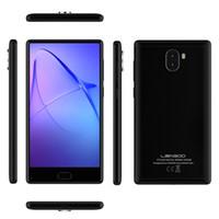 leagoo phone al por mayor-LEAGOO KIICAA MIX 4G Teléfono móvil Cámaras duales 13MP Android 7.0 Celular Octa Core MTK6750T 3GB + 32GB Smartphones con doble tarjeta SIM de 5.5