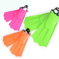 Wholesale swim fins for sale - Group buy Universal Adult Unisex Adjustable Portable Swimming Fins Diving Learning Tools Diving Equipment Lightweight Adult Flippers