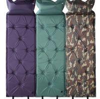 gonflant le tapis de nuit achat en gros de-Tapis de camping auto-gonflant lit de couchage Tapis de camping gonflable pique-nique tapis de plage matelas à air matelas tapis tapis LJJK1192