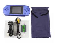 console de jeu de poche achat en gros de-PXP3 console de jeu portable de jeux Slim Station 16 bits portable lecteur de jeu vidéo 5 couleur rétro jeu de jeu de poche