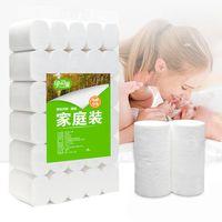 Wholesale Eco Friendly Biodegradable Custom Bulk Soft Bathroom Tissue Rolls Ply Toilet Paper For Sale