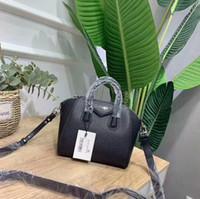 mini dizüstü bilgisayar markaları toptan satış-Antigona mini tote çanta ünlü markalar omuz çantaları gerçek deri çanta moda crossbody çanta kadın iş laptop çantaları 2019 çanta