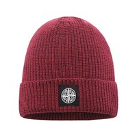 Wholesale womens bonnet resale online - Hot New Fashion Mens Womens Beanie Winter Hat Warm Bonnet Knitted Thicken Warm Luxury Beanie Cap Hat