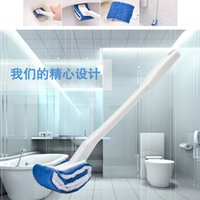 Wholesale bathroom wall accessories for sale - Group buy Toilet Brush nylonSoft hair creativity Holder Cleaning Brush For Toilet Wall Hanging Household Floor Cleaning Bathroom Accessories