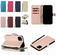 Wholesale sheep skin wallets resale online - For Samsung Galaxy A10S A20S M30S A70S A10E A20E NOTE PRO A50 A60 A90 Strap Sheep Wallet Leather Case Stand PU ID Skin Cover Luxury