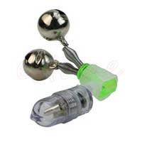 сигнальные фонари для удочек оптовых-HOT! LED Light Fishing Electronic Bite Alarm Fish Sensor Bells Rod Tip Shake