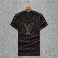 medusa tshirt großhandel-heißen Sommer Designer-T-Shirts für Männer Brief-Druck-T-Shirt der Männer Kleidung Marken-Kurzschluss-Hülsen-Shirt Frauen Tops Qualitäts-Meduse