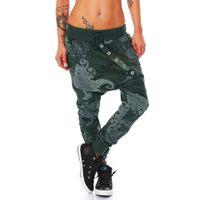 Wholesale womens baggy trousers resale online - Spring Female Low Waist Harem Pant Womens Fiber Octopus Printing Baggy Hip Hop Pant Streetwear Casual Pants Female Trousers Q190510