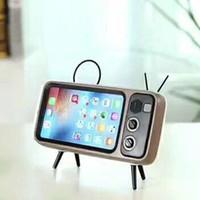 kleine telefonuhren großhandel-Peterhot PTH800 spielt Handy und Uhren Computer Bluetooth-Lautsprecher Bass TV-Lautsprecher Handy-Verstärker Outdoor Small Sound