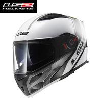 Wholesale ls2 helmet size l for sale - Group buy NEW LS2 flip up motorcycle helmet FF324 full face racing motorbike helmet double sun visor modular moto ECE size L XL XXL