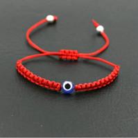 Wholesale string bracelets for sale - Group buy 20pcs set Lucky Turkish Evil Eye Braid Bracelet Red Blue Rope Thread String Men Women Chakra Bracelets Couples Jewelry