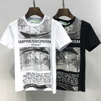 Wholesale brands clothes china for sale - Group buy 2019 SS New Arrival Top Quality Brand Designer Men s Clothing T Shirts Fashion Women Print Tees China Size M XL