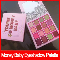 Wholesale 16 eyeshadow resale online - 2019 Newest Eyeshadow Palette Eye Makeup colors Money Baby Eye Shadow Palette High quality DHL shipping