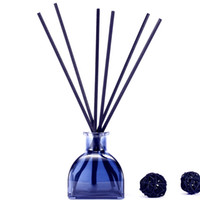 Wholesale aromatherapy scent diffuser for sale - Group buy Natural Rattan Reed Diffuser Lavender Reed Oil Diffusers for Bedroom Living Room Office Aromatherapy Oil for Gift Stress Relief