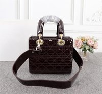 Wholesale black patent bag for sale - Group buy 2019 new women s shoulder bags patent leather solid color fashion temperament personality portable Messenger bags