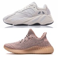 купить черные туфли оптовых-Shop 700 v2 shoes, Купить кроссовки Kanye West V2 Lundmark Облако Белый Цитрин Неотражающий Antlia Synth Черный Статический GID True Form DHgate Online