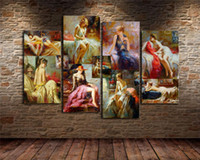 Wholesale pino oil paintings for sale - Group buy Pino Daeni Retro Sexy Woman Pieces Home Decor HD Printed Modern Art Painting on Canvas Unframed Framed