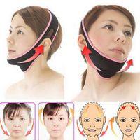 Wholesale massage bandage resale online - 2019 Face Lift Up Belt Sleeping Face Lift Mask Massage Slimming Face Shaper Relaxation Facial Slimming Mask Bandage