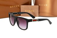 Wholesale ladies designer sun glasses resale online - Brand Fashion Sunglasses For Men Women Luxury Mens Sunglass Retro Sun Glasses Ladies Designer Sun Glass driving eyewear