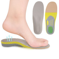 Wholesale memory foam running shoes resale online - Running Correction Insoles Fasciitis Inserts Arch Support Shoes Inserts Mesh Foot Correction Full Pad Breathable Sweat