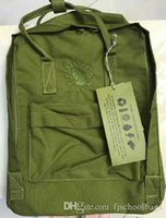 Wholesale microfiber crossbody bag for sale - Group buy Factory Embroidery Backpacks Fjallraven Kanken Green Waterproof SchoolBags Simple Crossbody Bags Fashion Canvas Bags Computer Bags Outlet