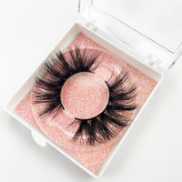 Wholesale eyelashes glitters for sale - Group buy 3D Mink Eyelashes with plastic square boxes plastic eyelash square boxes with glitters Plastic Square lash boxes D Mink Lashes