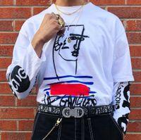 t-shirts x s großhandel-19SS Box X Luxus Desinger T High Street Fashion Baumwolle Kurzarm Hip Hop Männer Und Frauen Paar Sommer T Shirts HFWPTX300