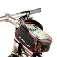 Wholesale motorcycle phone holder waterproof for sale – best Motorcycle Bag Motobike Holder Biker Riding Cycling Waterproof Bags Motorcycle Luggage BagFor IPhone X s Plus SamSung