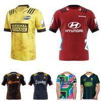 versand trikots groihandel-Neuseeland Super-Rugby Jersey 2020 Highlanders Haus Jersey Hurricanes Blues Rugby Jerseys Hemd große Größe s-5xl Ems-freies Verschiffen